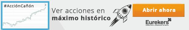 Acciones en máximos históricos