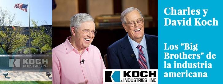Aunque fuera de Estados Unidos podrían pasar casi desapecibidos, Charles y David Koch son dos pesos pesados en la economía americana y tienen una gran influencia en el devenir político de su país.