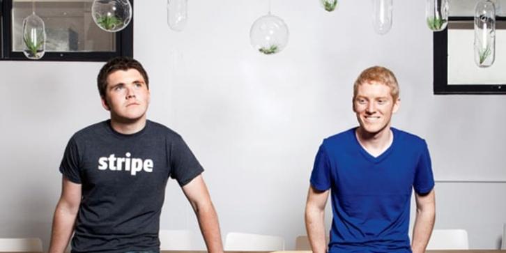 John & Patrick Collison (Stripe): veinteañeros y millonarios desafiando a PayPal