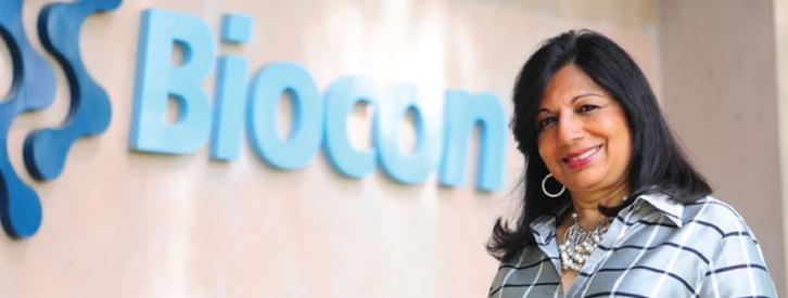 Kiran Mazumdar-Shaw, única empresaria multimillonaria de la India gracias a la insulina y a la bolsa.