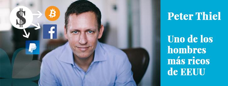 Peter Thiel es empresario, gestor de fondos de inversión y uno de los hombres más ricos de EEUU.