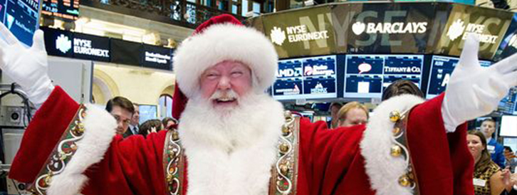 ¿Qué es el rally de Navidad o rally de final de año?