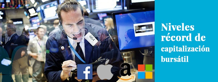 Niveles récord de capitalización bursátil: ¿una señal de recuperación económica?