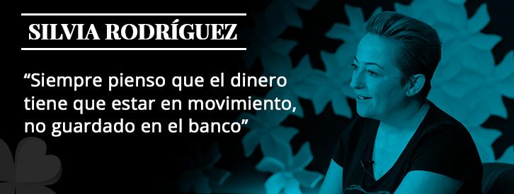 Es difícil escuchar hablar a Silvia Rodríguez y no contagiarse de energía positiva, por toda la simpatía que derrocha de manera natural.Nuestra alumna se define a sí misma como entusiasta y optimista.