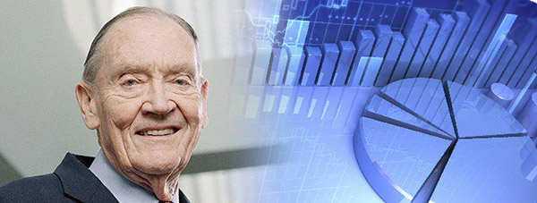 John C. Bogle, padre de la gestión pasiva