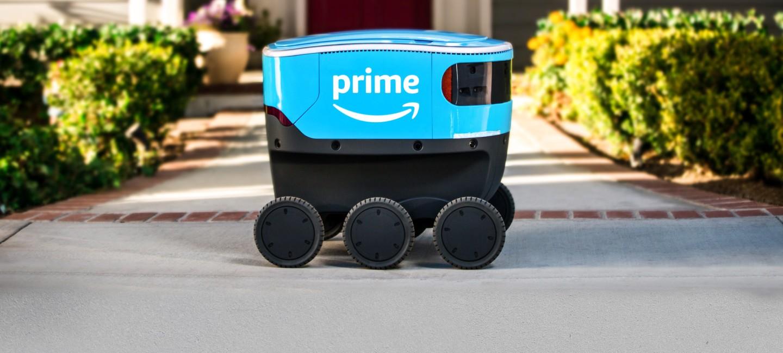 "Amazon empieza a testar a ""Scout"", su robot repartidor autónomo"