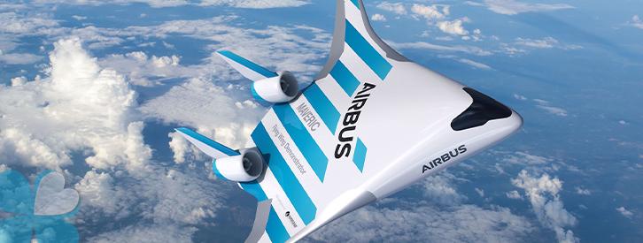 Airbus presentó a Maveric, su innovadora ala voladora