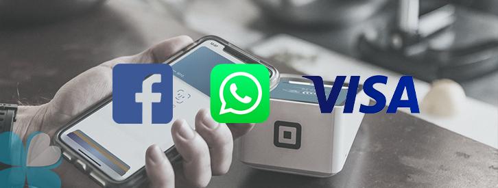 Facebook y Visa se alían para ofrecer pagos vía WhatsApp en Brasil