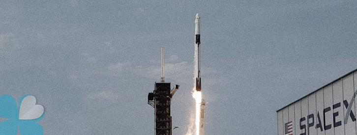 SpaceX se convierte en la primera empresa privada en enviar personas al espacio