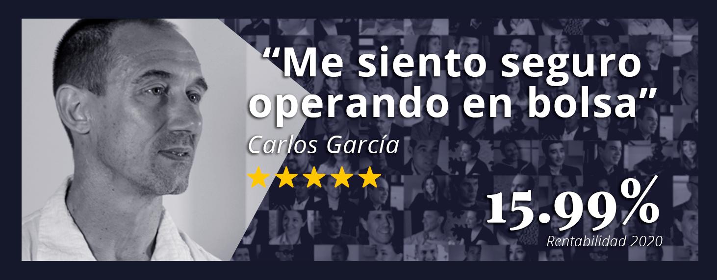 Opiniones sobre Eurekers Carlos Garcia