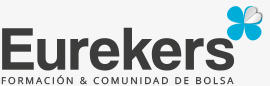 Este es el logo de Eurekers, la comunidad de inversores privados más grandes de Europa que han logrado aprender a invertir en bolsa