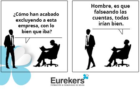Eurekers, Satira Bursatil 05-07-2019