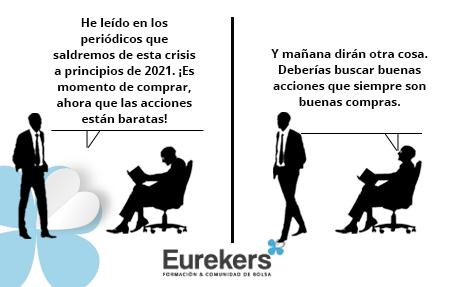 Eurekers, Satira Bursatil 08-10-2020