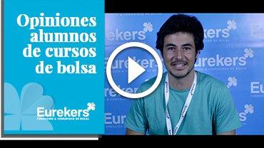 Opiniones Eurekers: Testimonio de Alberto Martínez sobre nuestro curso de bolsa.