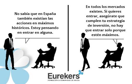Eurekers, Satira Bursatil 12-03-2021